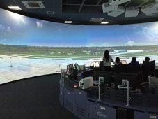 Digital Projection centro simulacion aerea China