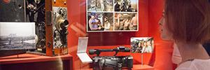 Electrosonic ayuda al IWM de Londres ha explorar el mundo de las películas bélicas