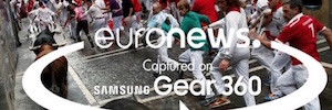 Euronews launches its proposal of ' journalism immersive ' with Samsung Gear 360