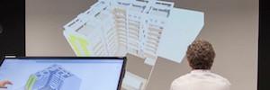 STI realiza la remodelación audiovisual de la sede de Lobe Construcciones