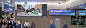 JCDecaux amplía su red de digital signage en los transportes ferroviarios de Londres