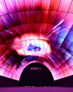 LG OLED Tunel IFA2016