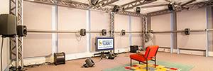 La Universidad de Surrey crea una sala de audición en formato 22.2