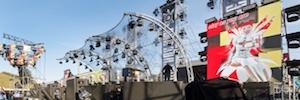 El festival al aire libre Nature One apuesta por la tecnología de sonido de d&b