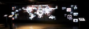 Guinness Storehouse ofrece un recorrido interactivo a sus visitantes con proyecciones en 250º