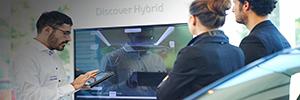 Los concesionarios de Toyota entran en la era digital acompañados de Panasonic