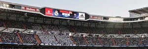 Real Madrid FC sceglie la tecnologia di video Led curva di Daktronics per il Bernabeu