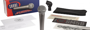 Shure SM58: an iconic live microphone that turns fifty