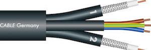 Sommer Cable combina con Transit MC 2030 HD vídeo y alimentación para HD y 3G-SDI