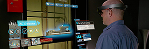 ThyssenKrupp and Microsoft take the reality augmented the market of those lifts