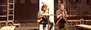 El XVI Encuentro de la Luz giró en torno a la obra de teatro contemporáneo 'Estaciò Términus'