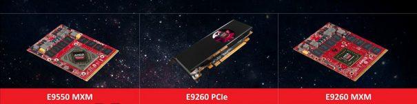 AMD Radeon E9550 y E9260