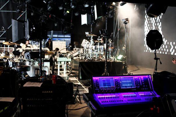 Allen & Heath dLive en la gira Soulwax