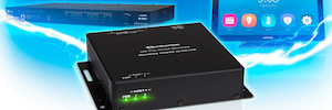 Crestron offers with DigitalMedia Ultra Midspan PoDM + long distance power transmission
