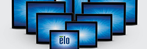 Macroservice show at Matelec Industry new series 90 of Elo monitors