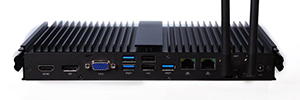 Giada F302: mini PC sin ventilador para aplicaciones críticas de digital signage