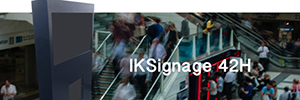 Internet kiosks brings a new concept to the digital signage with the IKSignage42H