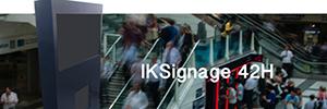 Internet Kioskos aporta un nuevo concepto a la cartelería digital con el IKSignage42H