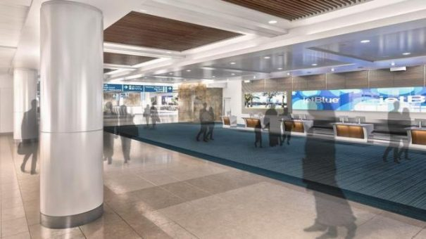 LG videowall aeropuerto Orlando