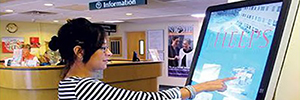 Phelps hospital installed interactive kiosks to improve communication with patients and visitors