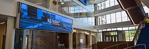 La Universidad de Kansas fomenta la colaboración creativa con la tecnología Led de NanoLumens