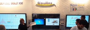 Newline Interactive and their parners provide an advanced technological proposal for the classroom