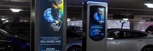 Peerless-AV diseña estaciones digitales de carga de vehículos eléctricos a medida para Volta Industries