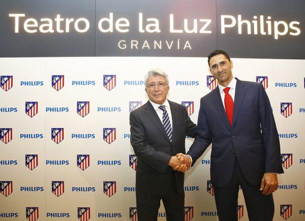 Philips iluminacion Led Atletico Madrid