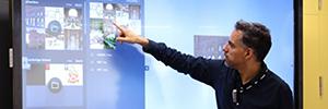 La universidad Pablo Olavide instala la PDI Clevertouch Plus para el uso docente