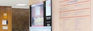 STI equipa con cartelería digital y sistemas AV al Hospital San Juan de Dios de Zaragoza