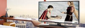 Samsung despliega sus soluciones de visual display, TV Premium y eficiencia en Hostelco 2016