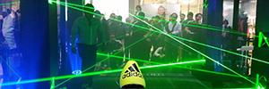 Adidas Colombia realiza una experiencia interactiva para presentar su nueva línea de zapatos deportivos