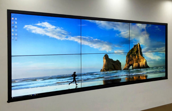 Volanti Displays HD videowall 3x2 5x3