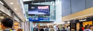 Absen and Clear Channel improve commercial digital network Helsinki-Vantaa Airport