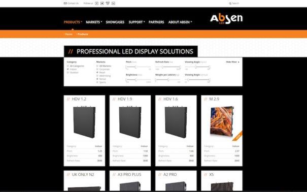absen-أوروبا-شبكة الإنترنت