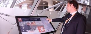 Ambar Telecomunicaciones desarrolla un kiosco interactivo de información corporativa y control de accesos
