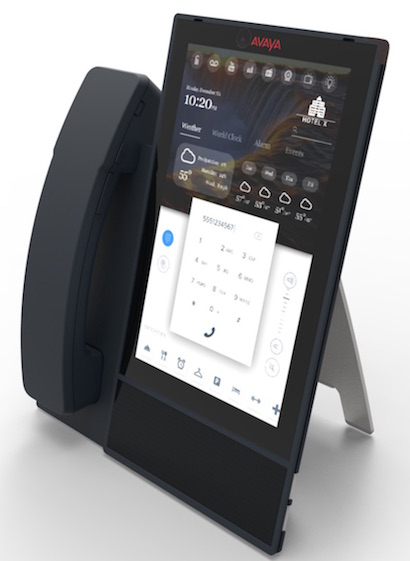 Avaya Vantage: designed for business communication and