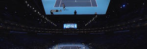 Virtual reality comes tennis live hand business collaboration