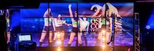 Visualización sincronizada con MediaCento IPX en conciertos y espectáculos