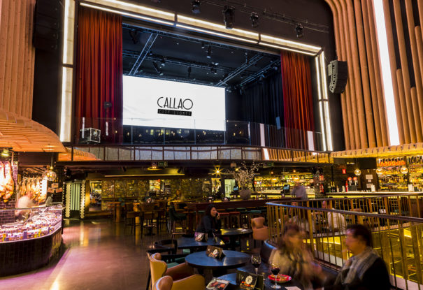 Callao City Lights comercializa pantallas Platea