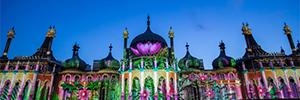 El Royal Pavilion se llenó de luz y color para conmemorar el 50 aniversario del Brighton Festival