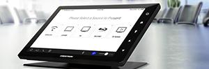 Crestron presenta la nueva generación de pantallas táctiles TSW para salas de reunión y aulas