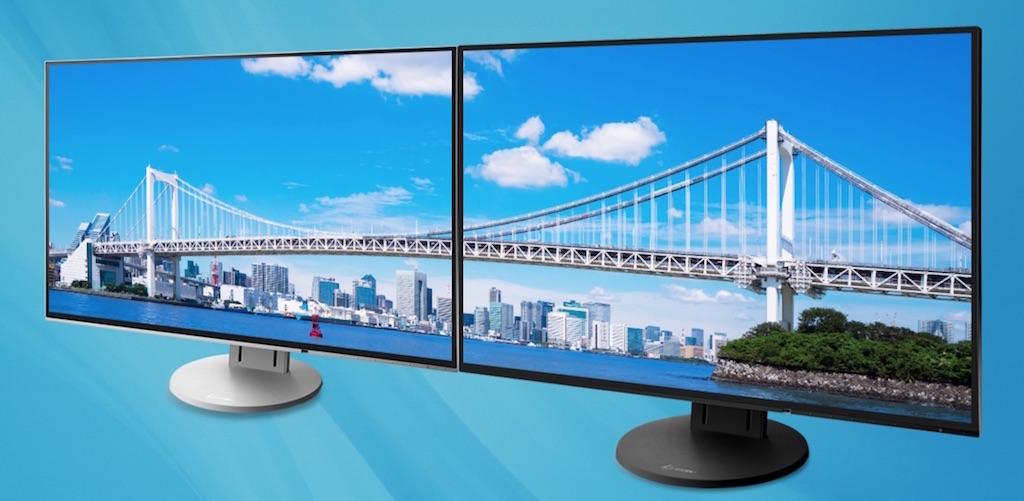 Eizo presenta sus monitores planos con marco de 1 mm para ...