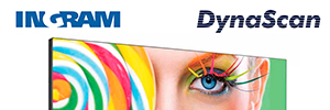Ingram Micro completes its portfolio of digital signage solutions with DynaScan