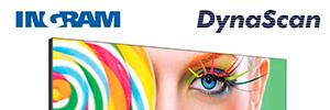 Ingram Micro completa su cartera de digital signage con las soluciones de DynaScan