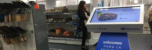 Neo Advertising diseña una herramienta de ventas interactiva para los puntos de venta de Distriplac