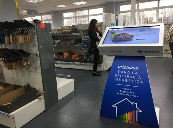 kiosque Neo pour Distriplac