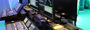 Las representadas de Stonex acudieron a LDI 2016 con sus novedades de iluminación profesional