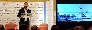 El Ayuntamiento de Málaga acudió a 4K-UHD Summit 2016 para presentar el proyecto Polo Digital