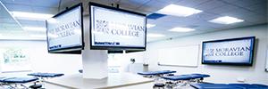 NEC proporciona el equipamiento AV al centro de aprendizaje experimental del Moravian College